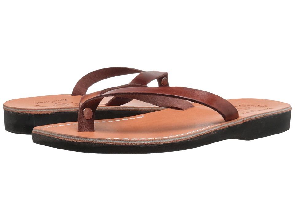 Jerusalem Sandals Jaffa Brown Mens Shoes
