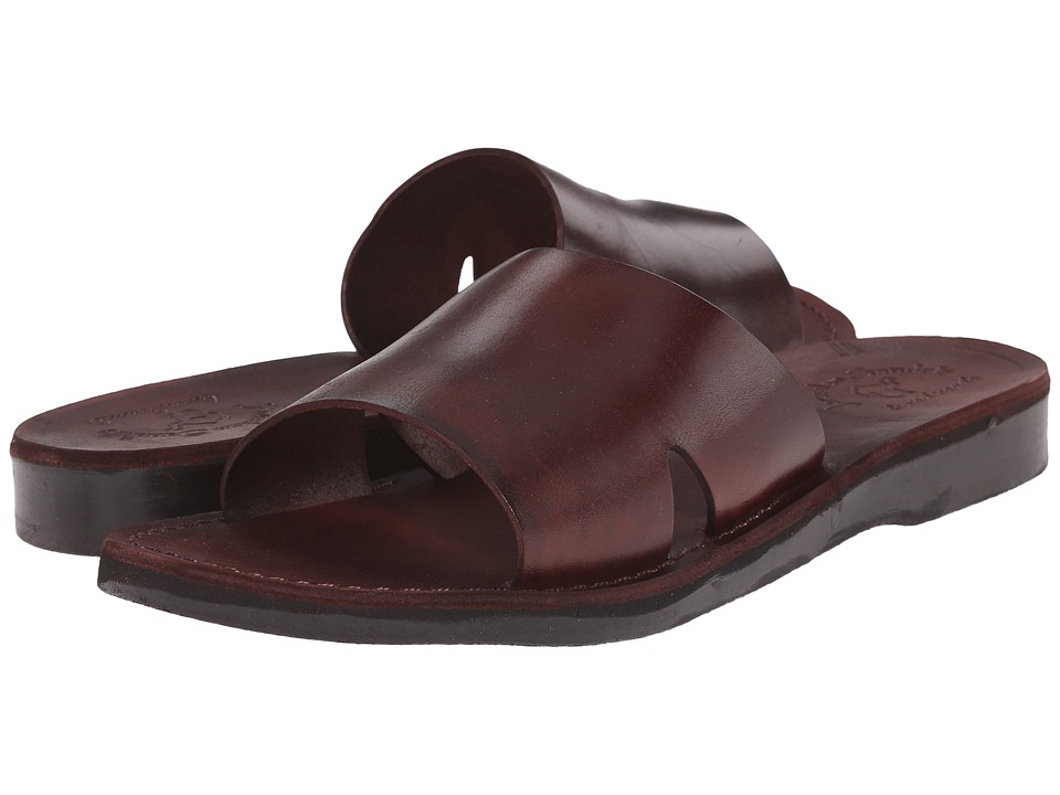 Jerusalem Sandals - Bashan - Mens (Brown) Men's Shoes