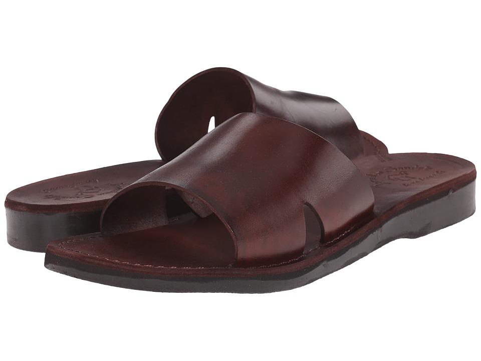 Jerusalem Sandals Bashan Mens Brown Mens Shoes