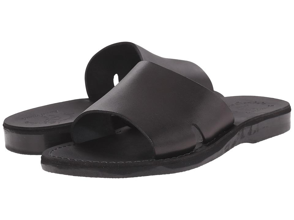 Jerusalem Sandals Bashan Mens Black Mens Shoes