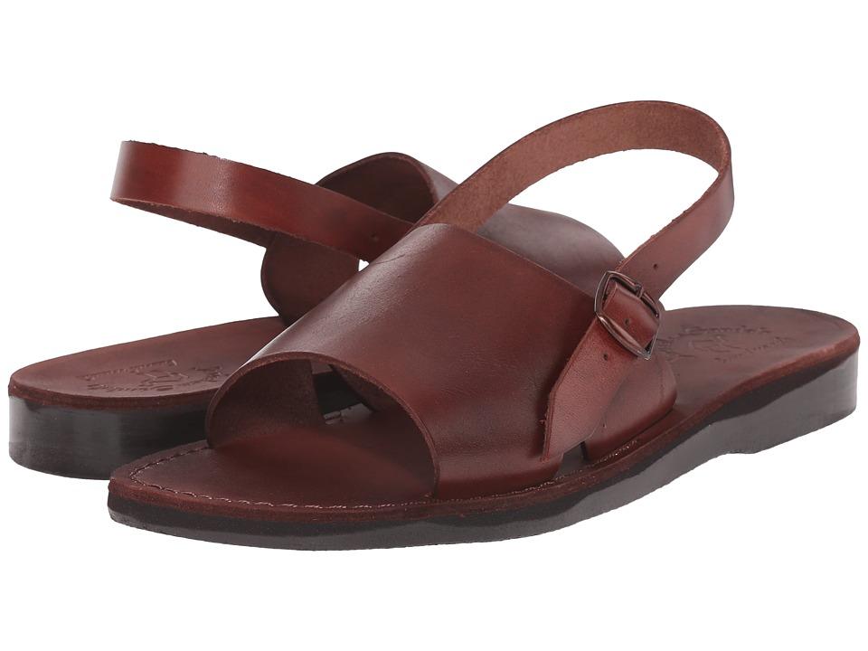 Jerusalem Sandals Aravah Mens Brown Mens Shoes