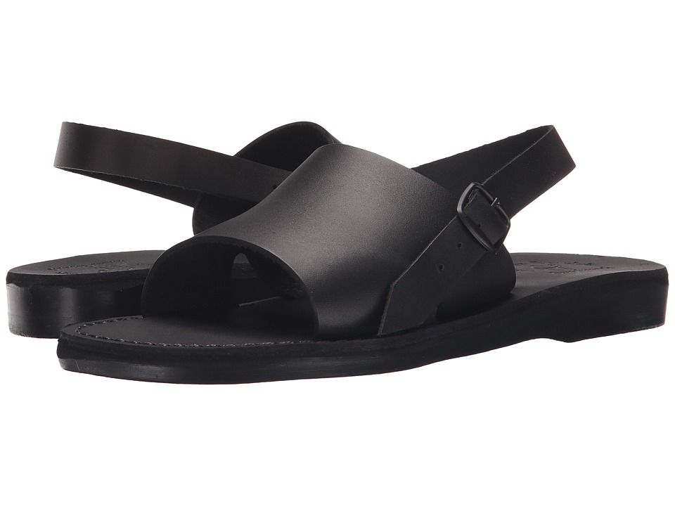 Jerusalem Sandals Aravah Mens Black Mens Shoes