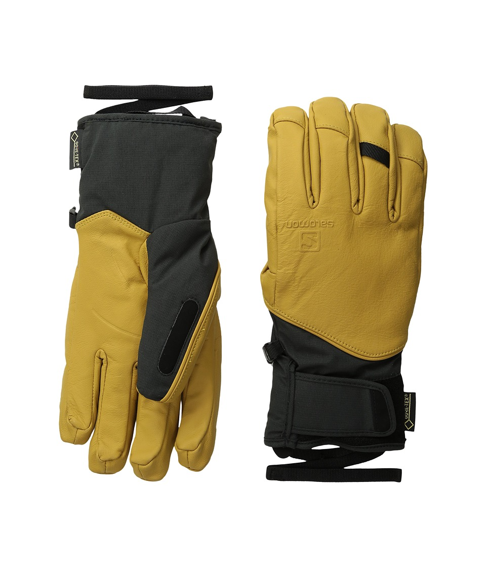 Salomon QST GORE-TEX M (Black/Kangaroo) Ski Gloves