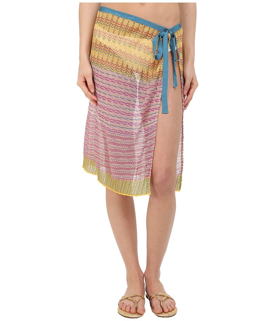 Missoni PR1WVMD5346 Purple/Yellow Womens Skirt