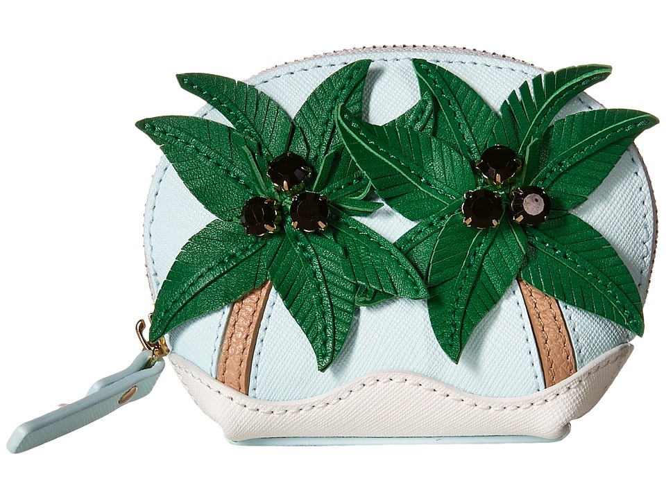 Kate Spade New York Breath of Fresh Air Palm Tree Coin Purse Multi Coin Purse