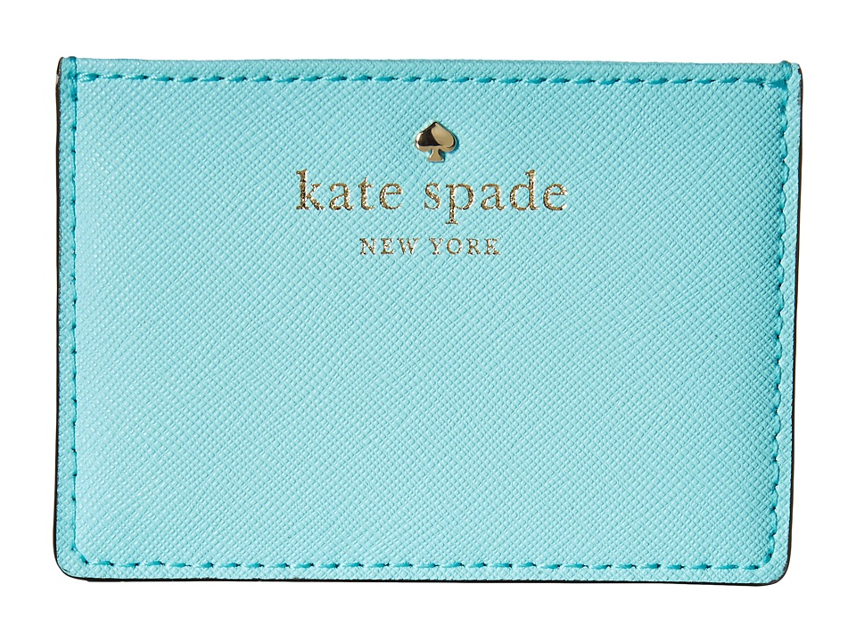 Kate Spade New York Cedar Street Card Holder Atoll Blue Credit card Wallet