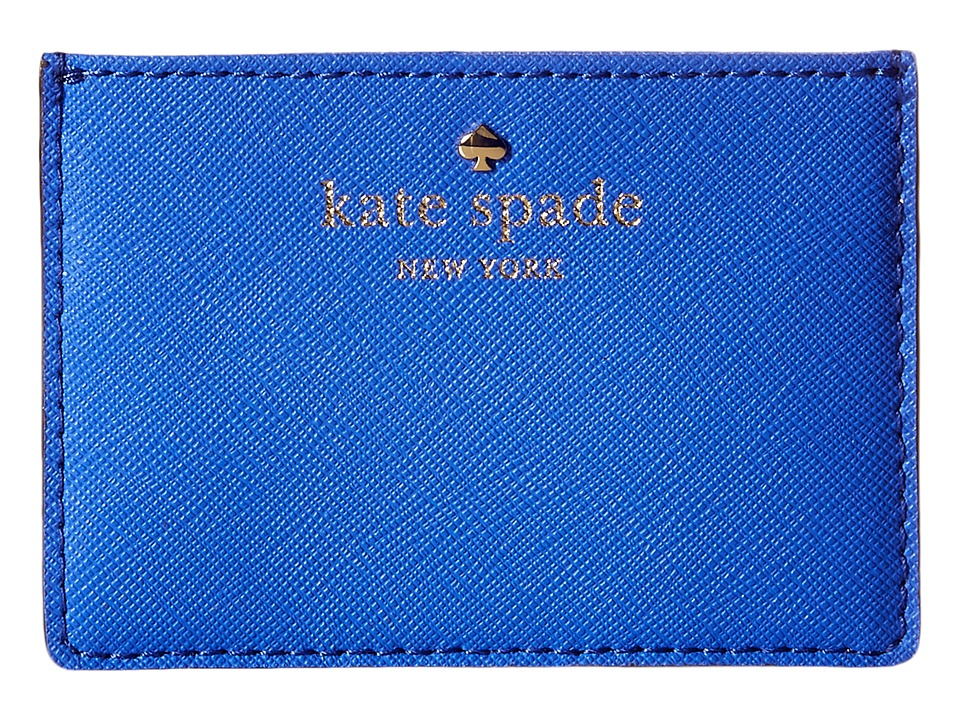 Kate Spade New York Cedar Street Card Holder Adventure Blue Credit card Wallet