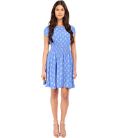 Kate Spade New York - Seahorses Cap Sleeve Dress