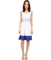 Kate Spade New York - Smocked Poplin Dress