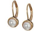 The Sak - Pearl Leverback Earrings