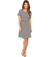 Kate Spade New York - Stripe Twist Back Dress