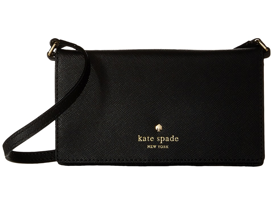 Kate Spade New York - Crossbody iPhone Case for iPhone 6 (Black) Cell Phone Case