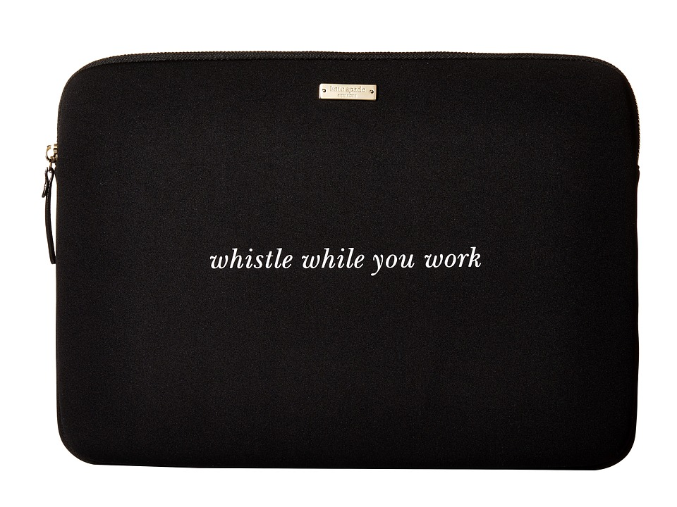 Kate Spade New York - 15 Neoprene Sleeve Laptop Cases (Black) Computer Bags