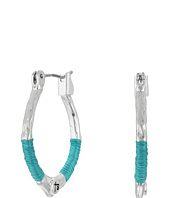 The Sak - Mini Thread Wrapped Hoop Earrings