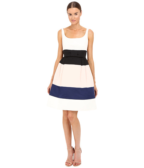 Kate Spade New York Color Block Satin Faille Dress