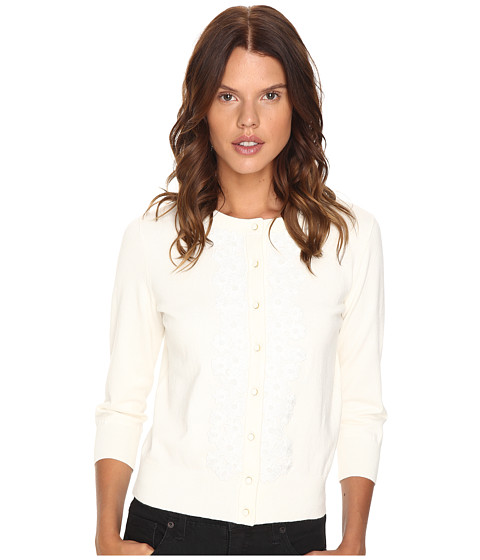 Kate Spade New York Lace Trim Cardigan
