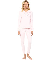 Kate Spade New York - Interlock & Poplin Long PJ