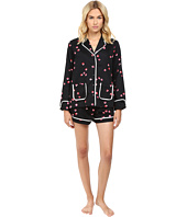 Kate Spade New York - Brushed Back Sateen Short PJ
