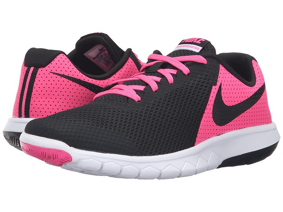 Nike Kids Flex Experience 5 (Big Kid) (Pink Blast/White/Black) Girls Shoes