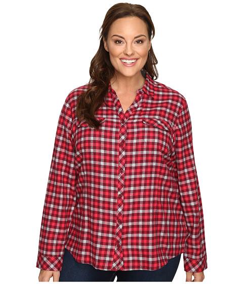 Columbia Plus Size Simply Put™ II Flannel Shirt - Chianti Check