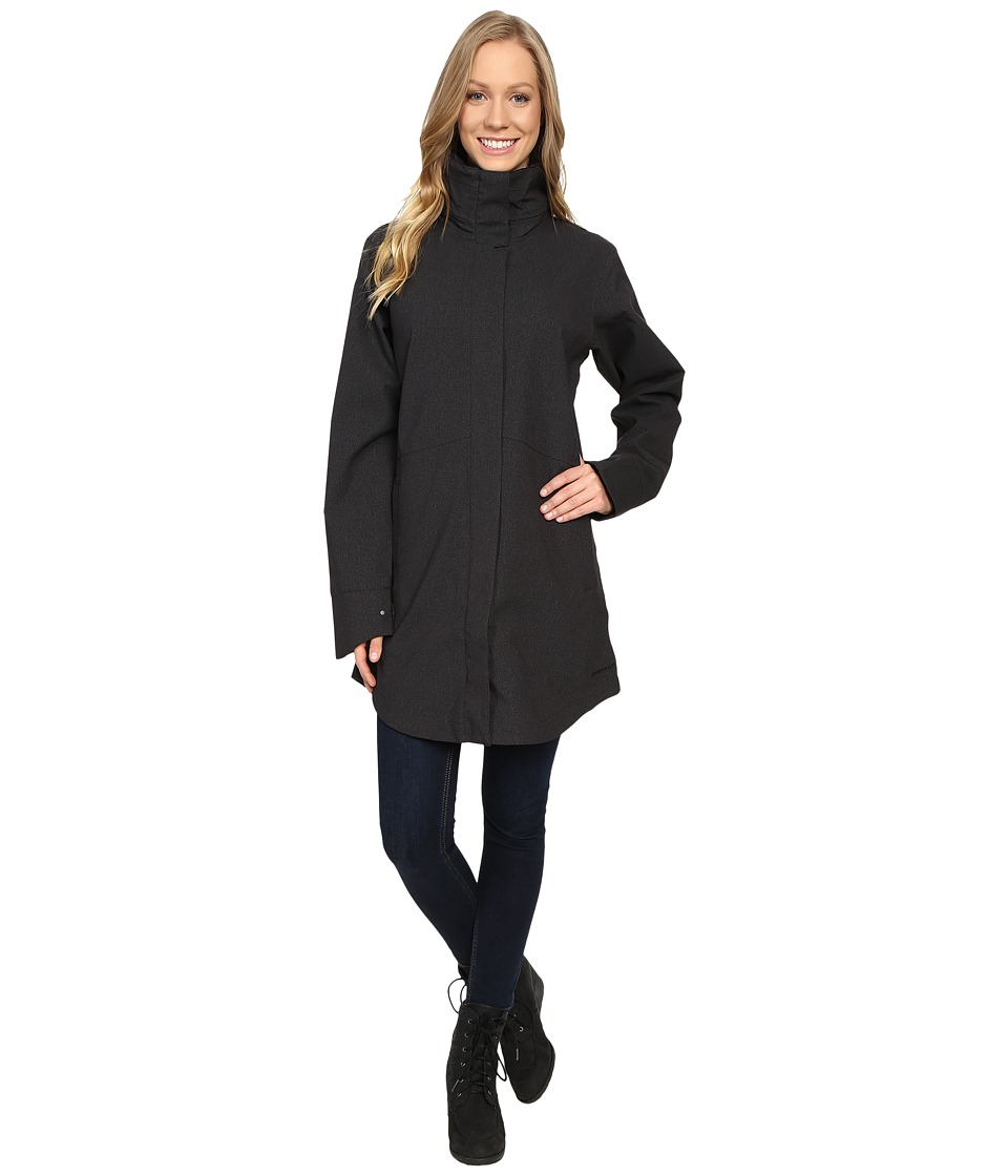 ExOfficio Emei Trench Coat (Black) Women