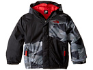 Image of The North Face Kids - Calisto Insulated Jacket (Toddler) (TNF Black Geo Camo) Boy's Coat