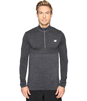 New Balance - M4M Seamless Quarter Zip Top