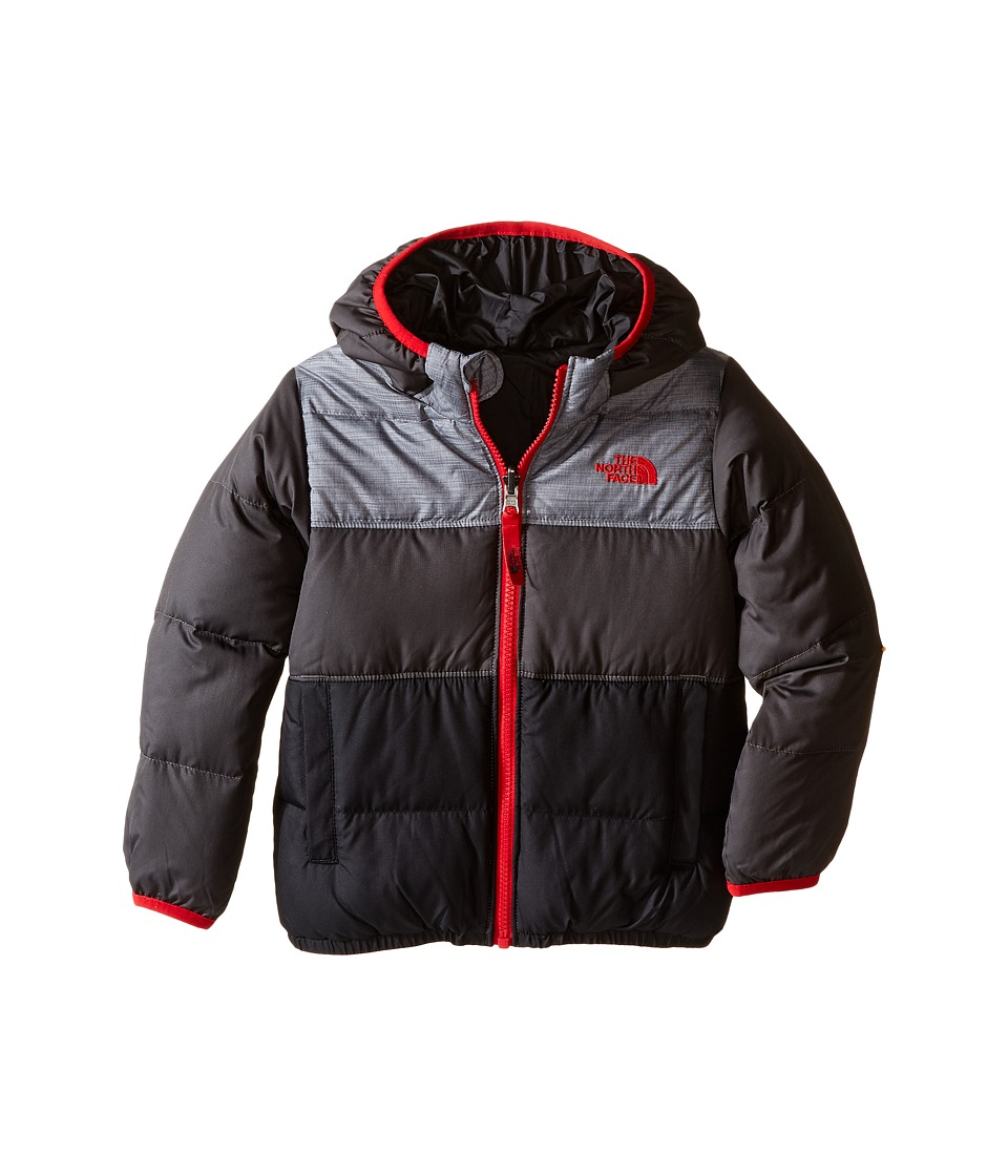 The North Face Kids - Reversible Moondoggy Jacket (Toddler) (TNF Medium Grey Heather) Boy