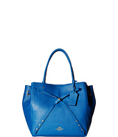 COACH - Refined Pebble Leather Turnlock Tie Tote