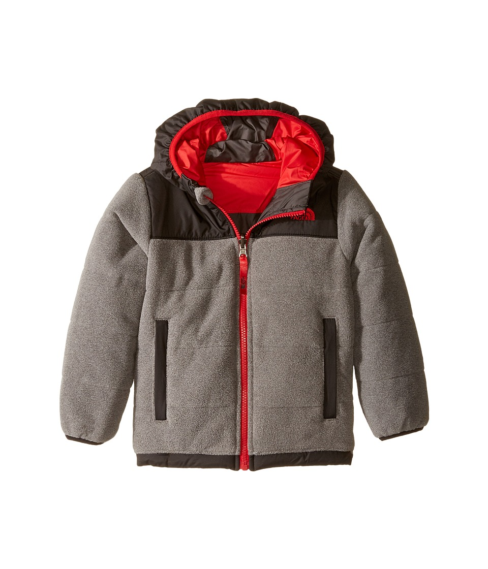 The North Face Kids Reversible True Or False Jacket (Toddler) (TNF Medium Grey Heather) Boy