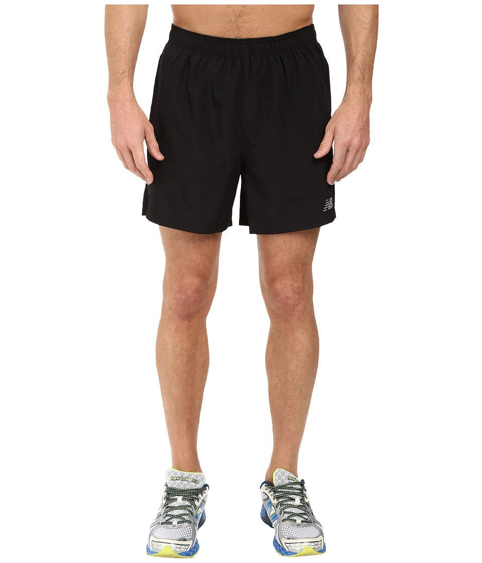 New Balance Accelerate 5 Shorts w/ Brief (Black) Men
