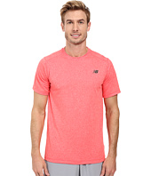 New Balance - Short Sleeve Heather Tech Tee
