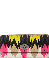 COACH - Print Crossgrain Slim Envelope Wallet