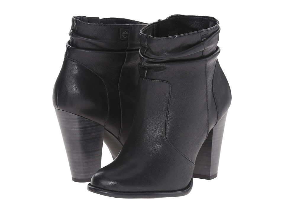 Harley Davidson Stonebrook Black High Heels