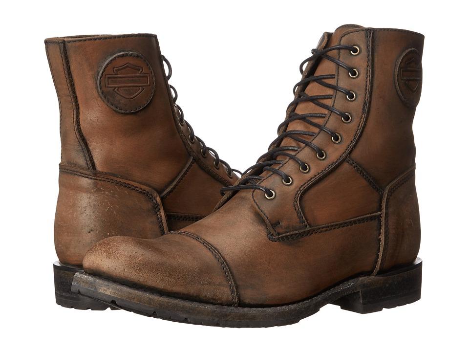 Harley Davidson Tallsman Brown Mens Boots