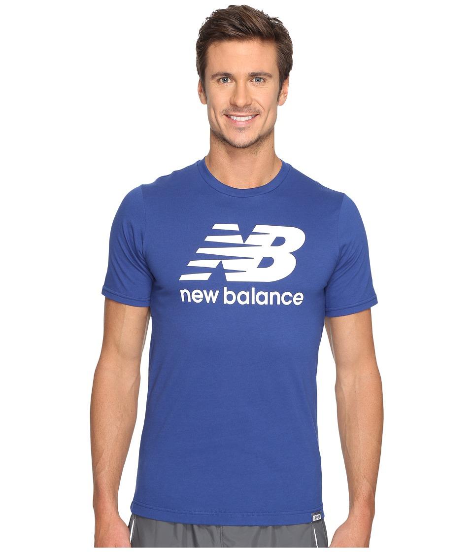 New Balance Classic Short Sleeve Logo Tee (Atlantic) Men