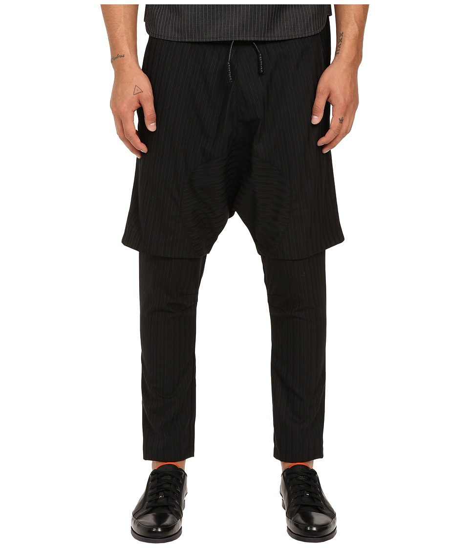 PRIVATE STOCK The Fez Pants Black Stripe Mens Casual Pants