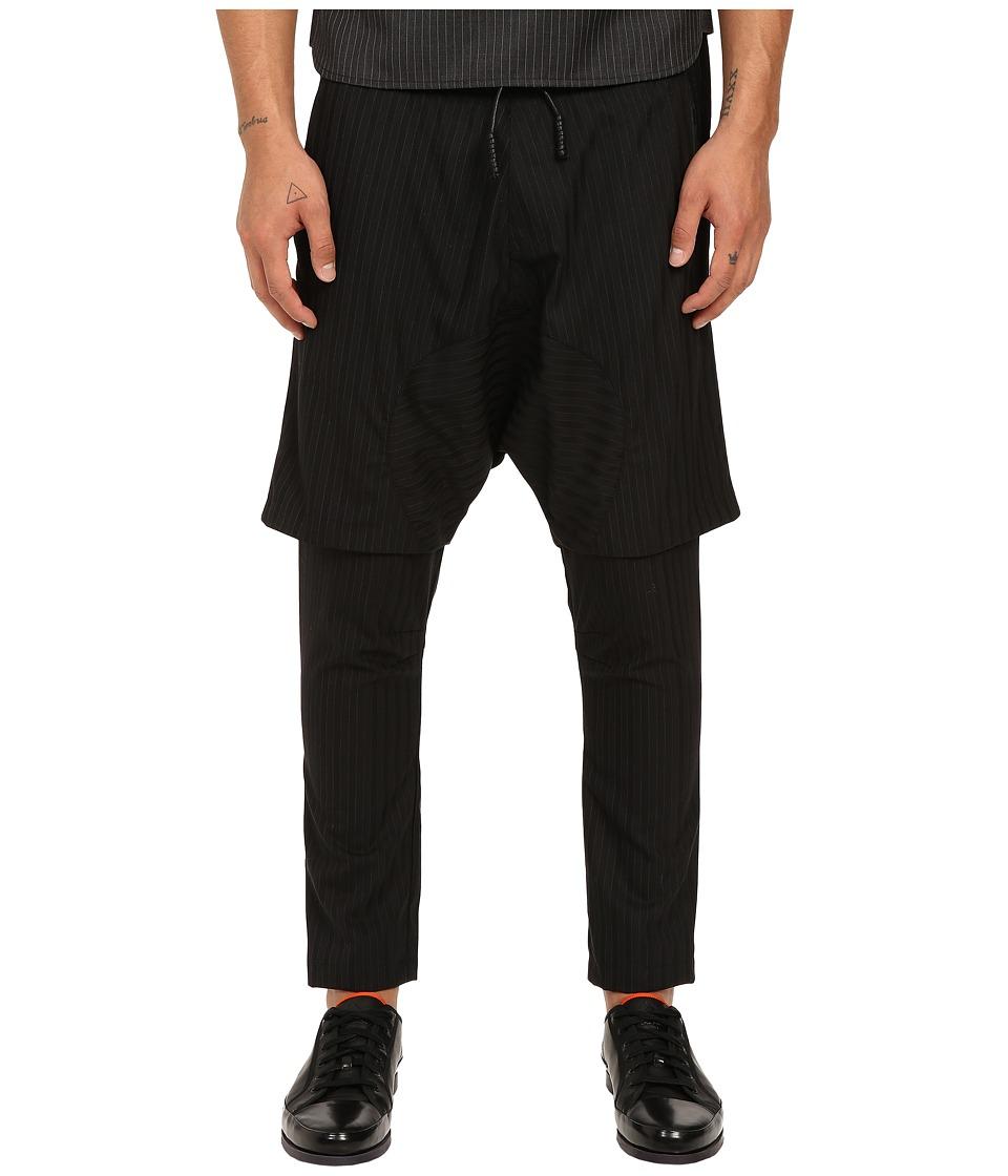 PRIVATE STOCK The Fez Pants Black Stripe Mens Casual Pants