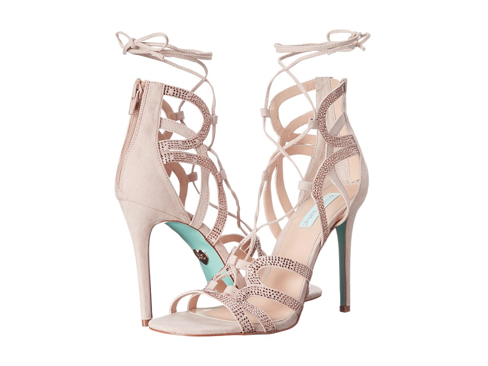 Blue by Betsey Johnson Celia Blush High Heels