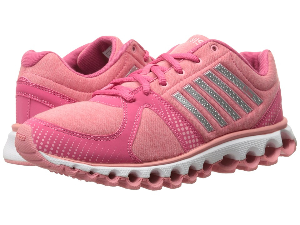 K-Swiss X-160 Heather CMF (Honeysuckle/Geranium Pink) Women