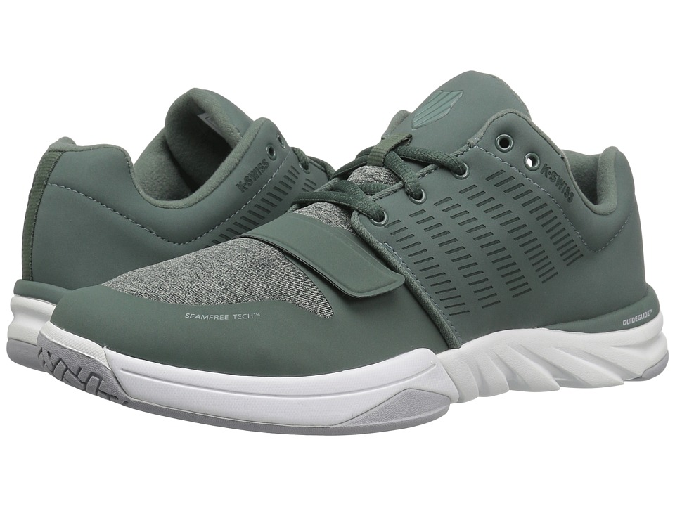 K-Swiss - X Court Athleisure (Dark Forest/Chinois Green) Mens Tennis Shoes