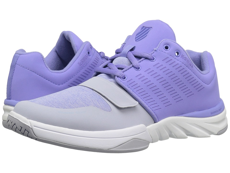 K-Swiss X Court Athleisure (Deep Periwinkle/Gray Dawn) Women