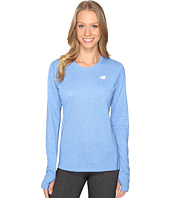 New Balance - Heathered Long Sleeve Shirt