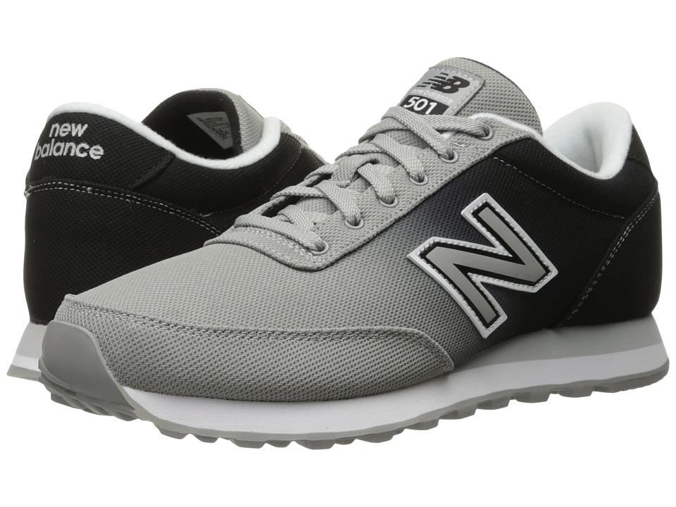 New Balance Classics - ML501 (Grey/Black) Men