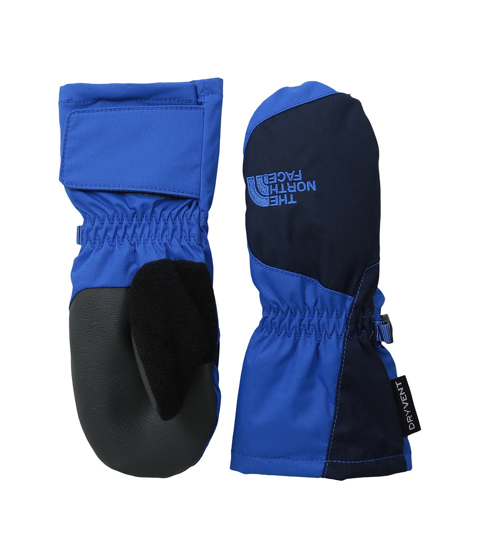 The North Face Kids Toddler Mitt (Toddler) (Jake Blue/Cosmic Blue) Extreme Cold Weather Gloves