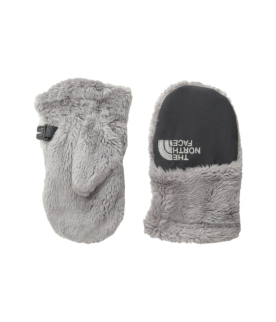 The North Face Kids Oso Cute Mitt (Infant/Toddler) (Metallic Silver) Extreme Cold Weather Gloves
