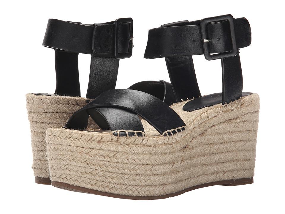 Marc Fisher LTD Randall Black Womens Sandals