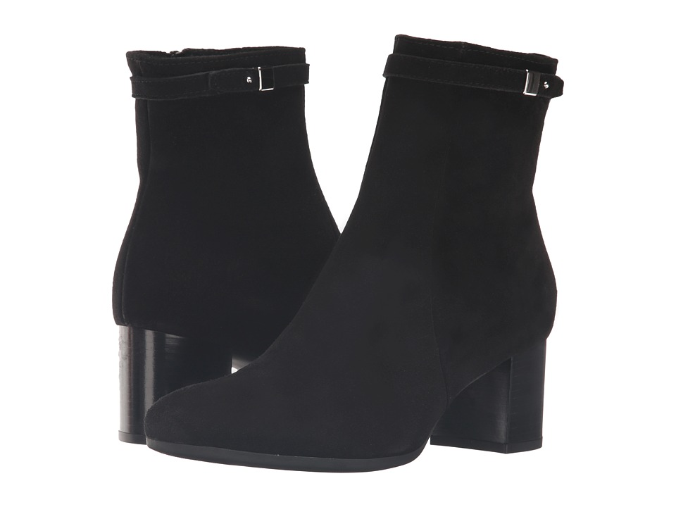 La Canadienne - Jade (Black Suede/Patent) Women