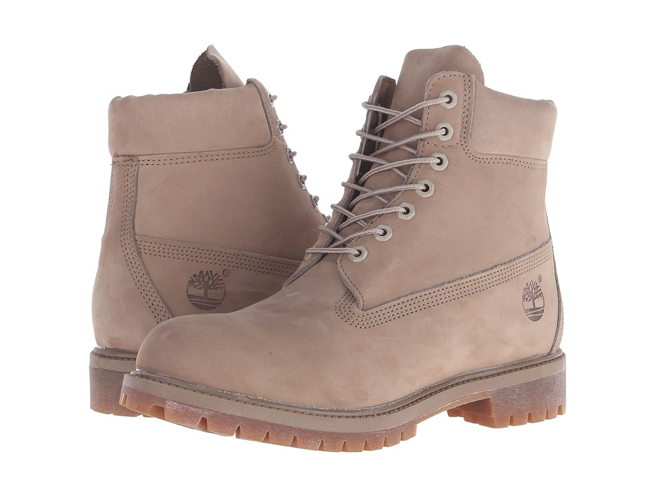 Timberland 6 Premium Monochrome Boot Tan Mens Lace up Boots