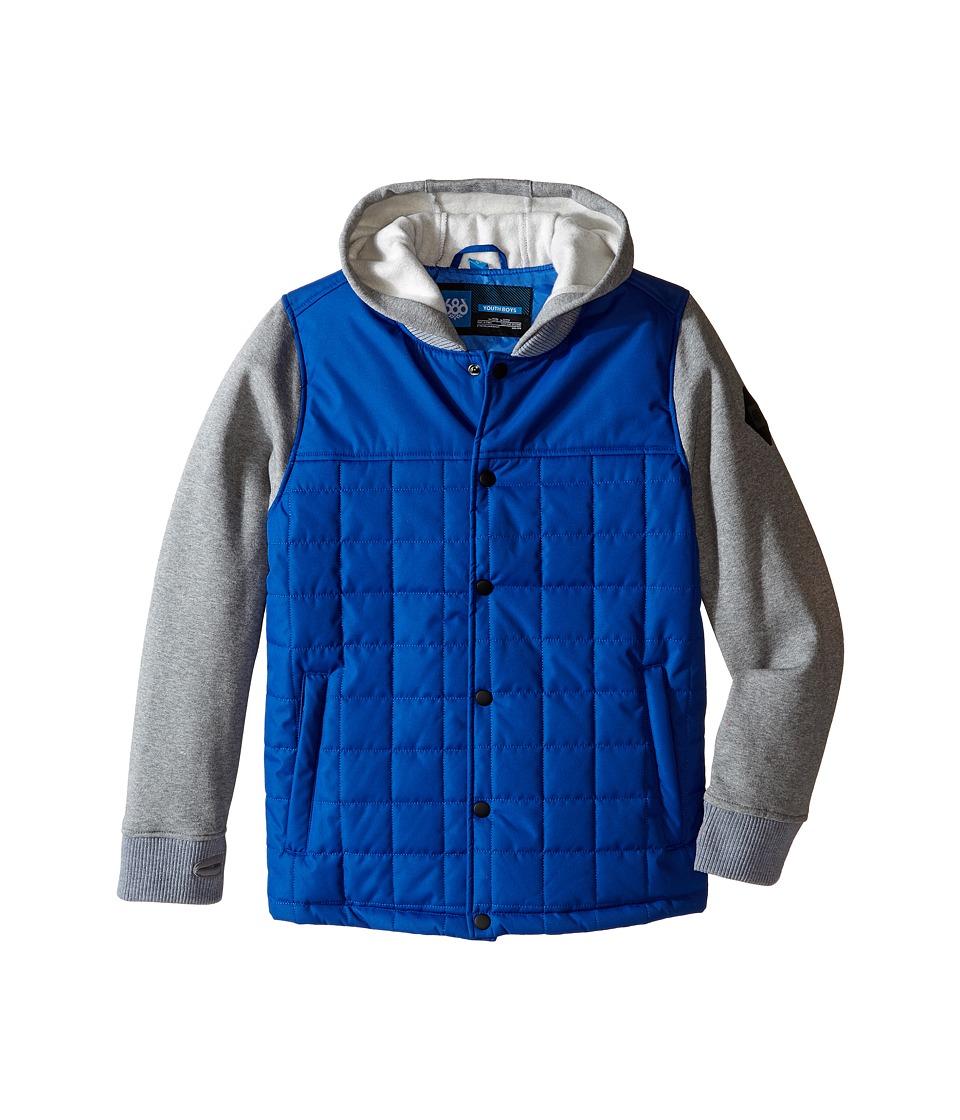 Image of 686 Kids - Bedwin Insulated Jacket (Big Kids) (Cobalt) Boy's Coat